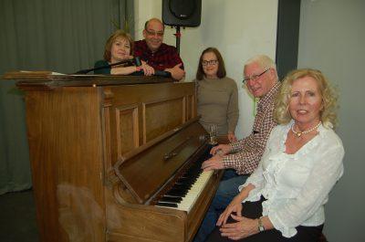 Kulturkreisler-Team von links nach rechts: Irina Mertens, Thomas Büchs, Helga Kalbussi, Hartmut Fritz und Ursula Schlößer